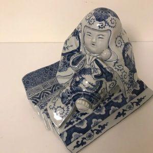 Ceramic Japanese figure